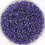 miyuki delica's 11/0 - sparkling amethyst lined crystal