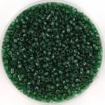 miyuki delica's 11/0 - transparant luster emerald