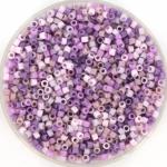 miyuki delica's 11/0 - purple pastel