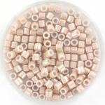 miyuki delica's 8/0 - opaque ceylon pink champagne