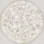 miyuki delica's 8/0 - ceylon white pearl