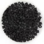 miyuki delica's 8/0 - matte black