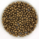 miyuki drop 2.8 mm - metallic matte dark bronze