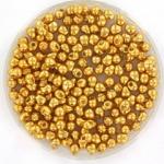 miyuki drop 2.8 mm - duracoat galvanized gold