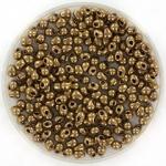 miyuki drop 2.8 mm - metallic dark bronze