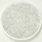miyuki drop 3.4 mm - transparent matte crystal