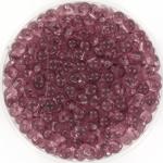 miyuki drop 3.4 mm - transparant smoky amethyst