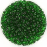 miyuki drop 3.4 mm - transparant green