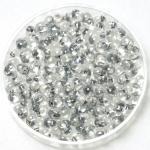 miyuki drop 3.4 mm - sparkled pewter lined crystal