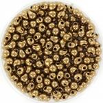 miyuki drop 3.4 mm - metallic dark bronze