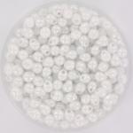 miyuki drop 3.4 mm - opaque white pearl ab