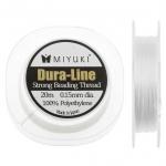 Miyuki rijggaren dura-line - 0.15 mm 20 meter