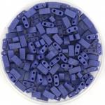 miyuki half tila 5x2.3 mm - opaque matte cobalt luster