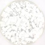 miyuki half tila 5x2.3 mm - opaque white