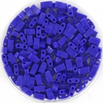 miyuki half tila 5x2.3 mm - opaque cobalt