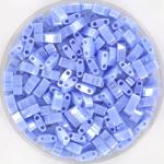 miyuki half tila 5x2.3 mm - opaque luster light periwinkle
