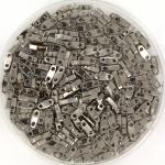 miyuki quarter tila 5x1.2 mm - plated nickel