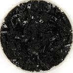 miyuki quarter tila 5x1.2 mm - opaque black