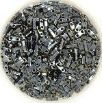miyuki quarter tila 5x1.2 mm - opaque light gunmetal