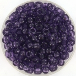 miyuki rocailles 6/0 - transparant amethyst