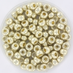 miyuki seed beads 6/0 - duracoat galvanized silver