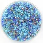miyuki rocailles 11/0 - mix aqua shimmer