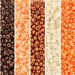 miyuki seed beads 11/0 - shiny glow