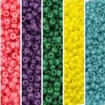 miyuki seed beads 11/0 - fun fiesta