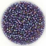 miyuki rocailles 11/0 - silverlined ab amethyst