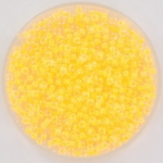 miyuki seed beads 11/0 - luminous yellow orange