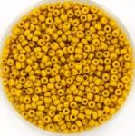 miyuki rocailles 11/0 - opaque matte mustard