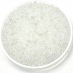 miyuki rocailles 11/0 - silverlined semi matte ab transparant