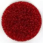 miyuki rocailles 11/0 - transparant ruby