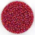 miyuki rocailles 11/0 - transparant matte ab ruby