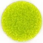 miyuki rocailles 11/0 - transparant chartreuse
