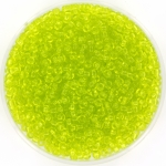 miyuki seed beads 11/0 - transparant chartreuse