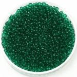 miyuki seed beads 11/0 - transparant emerald