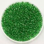 miyuki rocailles 11/0 - silverlined light green