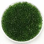miyuki rocailles 11/0 - transparant olive