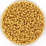 miyuki rocailles 11/0 - 24kt matte gold plated