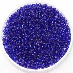 miyuki seed beads 11/0 - silverlined cobalt