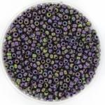 miyuki seed beads 11/0 - metallic matte iris eggplant