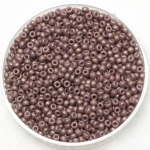 miyuki seed beads 11/0 - opaque matte dusty mauve