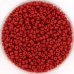 miyuki rocailles 11/0 - metallic matte brick red