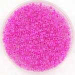 miyuki rocailles 11/0 - inside color luster fuchsia