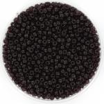 miyuki rocailles 11/0 - transparant extra dark smoky amethyst