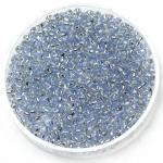 miyuki rocailles 11/0 - silverlined light sapphire