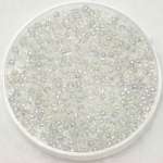 miyuki seed beads 11/0 - transparant ab crystal