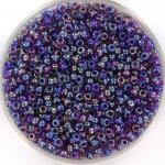miyuki rocailles 11/0 - purple lined amethyst ab