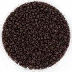miyuki seed beads 11/0 - opaque chocolate